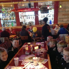 Photo taken at Red Robin Gourmet Burgers by Nicole D. on 10/27/2012