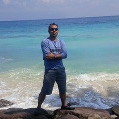 Photo taken at Sumur Tiga Beach. by Haris A. on 1/5/2015