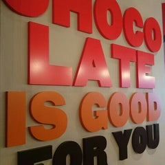 Photo taken at Max Brenner Chocolate Bar by Rita T. on 8/6/2015