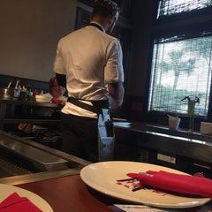 Photo taken at Kobe Japanese Steakhouse & Sushi Bar by Rebekah D. on 10/9/2015