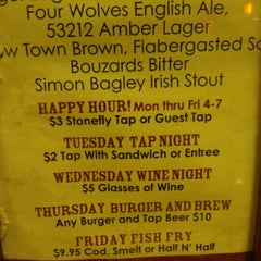 Photo taken at Stonefly Brewery by Shae D. on 11/17/2012