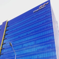 Photo taken at Bank Mandiri by Supianto on 8/7/2015