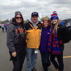 Photo taken at Lot 5 Ralph Wilson Stadium by Mike B. on 10/19/2014