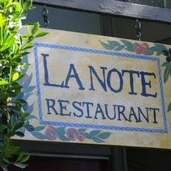 Photo taken at La Note by La Note on 4/4/2014