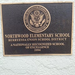 Photo taken at Northwood  Elementary School by Casey S. on 10/6/2012