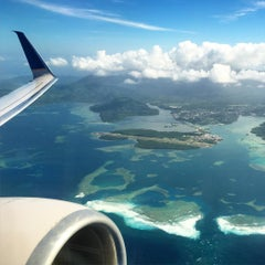 Photo taken at Pohnpei International Airport (PNI) by Dan C. on 1/23/2016