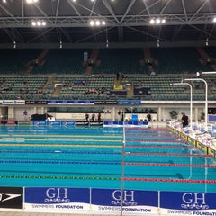 Photo taken at Sydney Olympic Park Aquatic Centre by Vanessa C. on 4/20/2014