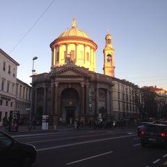 Photo taken at Bergamo Città Bassa by Vladimir K. on 10/23/2014