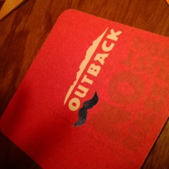 Photo taken at Outback Steakhouse by Brian S. on 1/8/2014