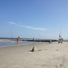 Photo taken at Hunting Island Beach by Randy C. on 7/17/2013
