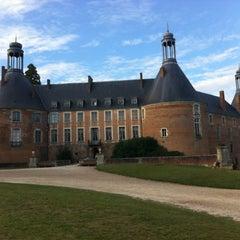 Photo taken at Château de Saint-Fargeau by Rafael R. on 8/16/2013