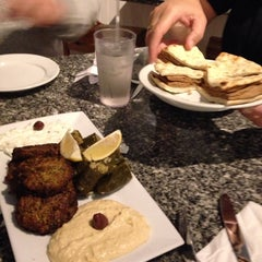 Photo taken at Yamas Mediterranean Grill by Leona P. on 10/18/2014