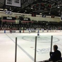 Photo taken at Schneider Arena by Spencer D. on 1/26/2013