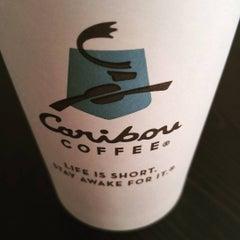 Photo taken at Caribou Coffee by Matt Z. on 1/20/2016