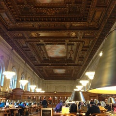 Photo taken at Rose Main Reading Room by Mae A. on 1/18/2013