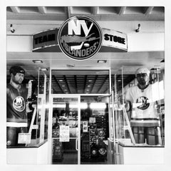Photo taken at New York Islanders Team Store by David H. on 10/10/2012