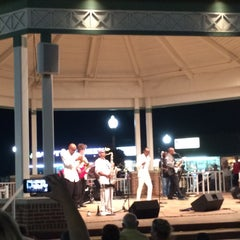Photo taken at Rehoboth Beach Bandstand by Mike B. on 9/5/2015