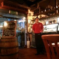 Photo taken at George & Dragon Café by Hugo L. on 3/19/2015
