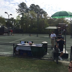 Photo taken at Family Circle Tennis Facility by Don F. on 4/6/2015