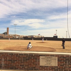 Photo taken at Richardson High School Baseball Field by Kirsten O. on 2/15/2014