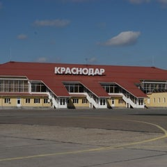 Photo taken at Международный аэропорт Пашковский / Pashkovsky International Airport (KRR) by Yakunov S. on 6/4/2013