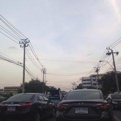 Photo taken at แยกนิด้า (NIDA Intersection) by Aey V. on 9/2/2015