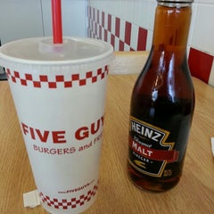 Photo taken at Five Guys by Robert T. on 4/5/2013