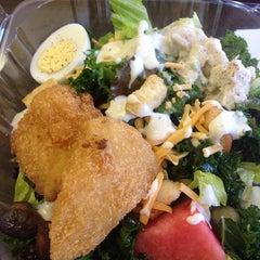 Photo taken at SEA FOOD fresh salad bar & fried fish and shrimp by Sarah C. on 5/30/2014