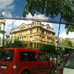 Photo taken at Opština Savski venac by Bikkojisedi H. on 4/22/2014