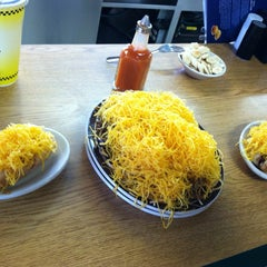 Photo taken at Skyline Chili by James M. on 3/22/2013