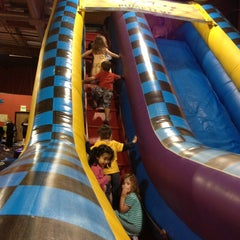 Photo taken at Pump It Up by Heather S. on 6/16/2013
