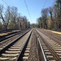 Photo taken at SEPTA Haverford Station by Stephen B. on 4/20/2014