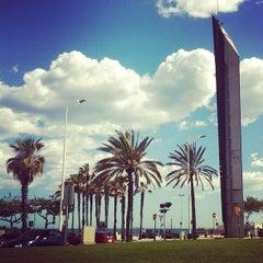 Photo taken at Platja del Bogatell by Imanol A. on 6/4/2013