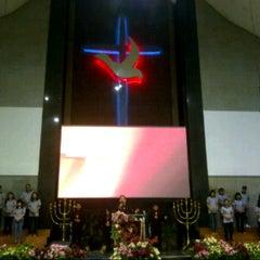 Photo taken at Gereja Allah Baik Pusat by Stefanie R. on 4/17/2014