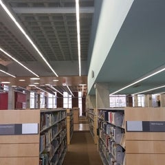 Photo taken at Kitchener Public Library - Central by Kian E. on 10/24/2014