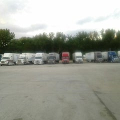 Photo taken at Grovertown Truck Plaza by Dennis C. on 6/3/2014