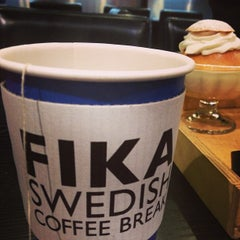 Photo taken at FIKA Swedish Coffee Break by jennifer y. on 1/2/2013