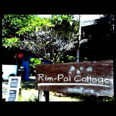 Photo taken at Rim Pai Cottage by pailin on 2/9/2013