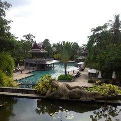 Photo taken at Mukdara Beach Villa And Spa Resort by Dear L. on 11/10/2012