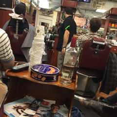 Photo taken at Clinton Street Barbershop by Jonathan M. on 12/13/2014