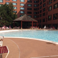 Photo taken at River Place Pool by T. N. on 7/7/2015