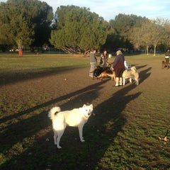 Photo taken at Sepulveda Basin Off-Leash Dog Park by Keven L. on 12/29/2012