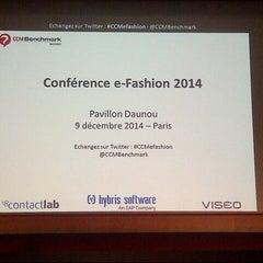 Photo taken at Pavillon Daunou by Digitalzia on 12/9/2014