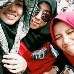 Photo taken at Stadium Mini Shah Alam by Syazwinna A. on 3/6/2015
