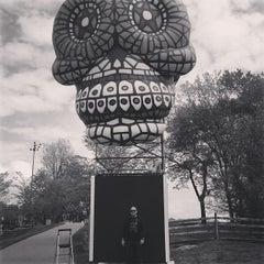 Photo taken at Woodstock original site by Michael J. on 5/23/2014