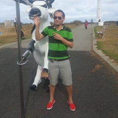 Photo taken at Cape Leeuwin Lighthouse by Paitoon H. on 4/23/2013