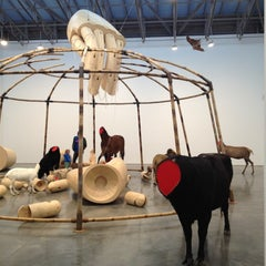 Photo taken at Gladstone Gallery by Jon S. on 11/17/2012
