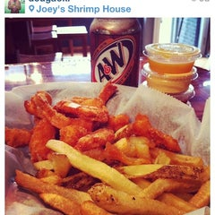 Photo taken at Joey's Shrimp House by Doug W. on 9/1/2012