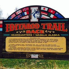 Photo taken at Iditarod Race Headquarters by Robert F. on 11/2/2013