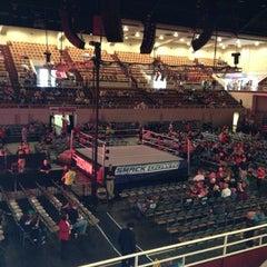 Photo taken at Knoxville Civic Audiotorium & Coliseum by Brad J. on 10/14/2012